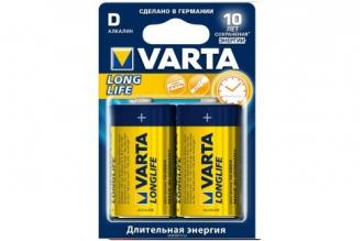Батарейка тип D Longlife 4120 LR20 Varta