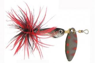 Блесна-вертушка R-Fish RFish55L111 Mystic класса лайт для ловли в быстротекущей