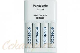 Зарядное устройство Smart & Quick (с аккумуляторами AA) Panasonic, Япония