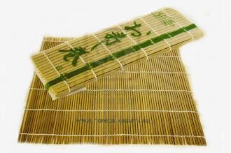 Циновка для суси (роллов) 240 мм, Япония, из бамбуковых палочек.