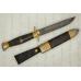 Нож Финка Пограничные войска (дамасская сталь, граб) модель 30781АиР (Златоуст),