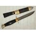 Нож Финка ВДВ (дамасская сталь, граб) модель 32115 АиР (Златоуст), Россия