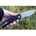 Нож Automat Kalashnikov AK-101 Gray Plain Böker Plus