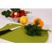 Доска разделочная 380x250x2 мм (зеленая) Biomaid