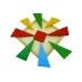 Деревянная головоломка Четыре цвета