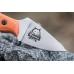Нож Hammy (AUS-8, Orange G-10) Kizlyar Supreme, клинок