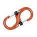 Алюминиевый двусторонний карабин S-Biner SlideLock #2 (orange) Nite Ize