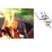 Набор с огнивом FireLighting (фуксия/оранж)