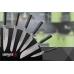 Набор из 6 ножей и магнитной подставки MO-V SKM-007/G-10 Samura, Япония