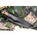 Нож Kizlyar Supreme Nikki (AUS-8, орех) в ножнах