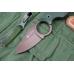 Красивый нож Amigo X (D2, Titanium, Green G-10) Kizlyar Supreme