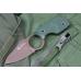 Удобный нож Amigo X (D2, Titanium, Green G-10) Kizlyar Supreme
