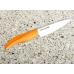 Нож Samura Fusion SF-0010 Orange керамический для чистки овощей