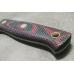 Нож Росомаха N690 (зелёно-красная микарта с оружейной насечкой) Южный Крест