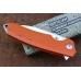 Нож складной «Шершень-3» (orange) Reptilian