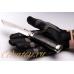 Нож «Швед» (сталь N690) Лебежь в ладони