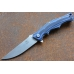 Нож складной «Дагон» (blue) Steelclaw