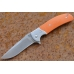 Нож складной «Резервист» (orange) Steelclaw