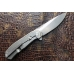 Нож складной Real Steel T109 Flying Shark (stonewash)