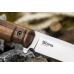 Нож Sturm (AUS-8, Walnut) Kizlyar Supreme, логотип