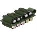 Панель-органайзер Kiwidition Battery Holder 10L OD Green