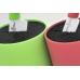 Подставка для ножей PWBS-15-D-GRN Hatamoto Color