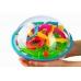 Головоломка шар-лабиринт 19 см 138 шагов