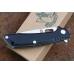 Нож складной «T03F» black Steelclaw
