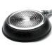 Сковорода 220 мм (мраморная крошка, черная) 23560 Mayer & Boch, дно