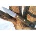 Нож XM N690 (зелёная микарта с оружейной насечкой) Южный Крест