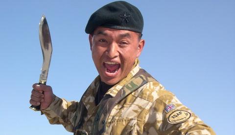 Кукри - официальное оружие армии Непала.